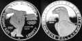 1983 S Los Angeles XXIII Olympiad Discus Thrower Commemorative Silver Dollar Proof